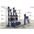 GMC série alta pressão pulso saco tipo coletor de poeira