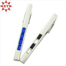Hot nouvelle conception personnalisée plaqué argent Clips de cravate simple (XY-MXL73007)