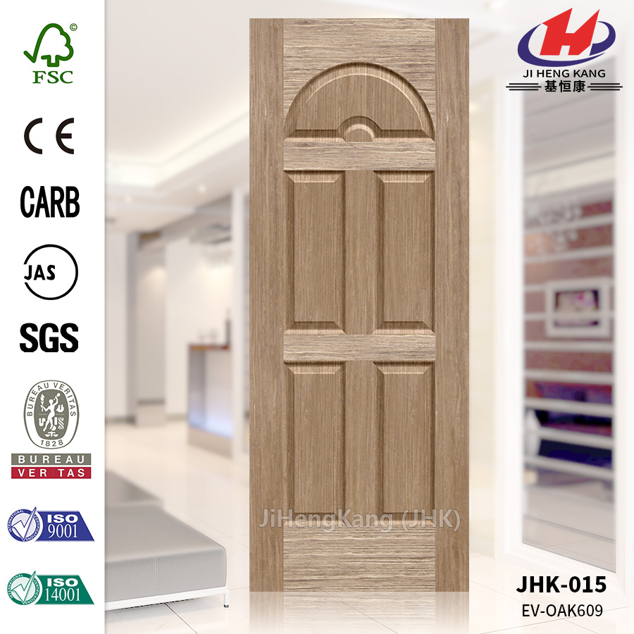 Home Depot Modern Design Veneer Ev-Oak Door Panel