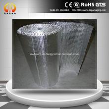 Aislamiento de burbuja de aire de aluminio para aislamiento de techo
