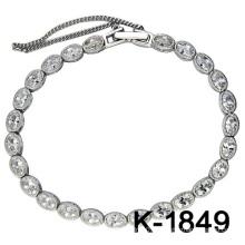 Novos Designs Pulseiras 925 Silver Fashion Jewellery.