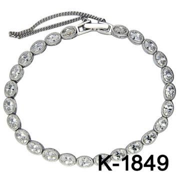 Nuevos diseños pulseras 925 joyas de moda de plata.