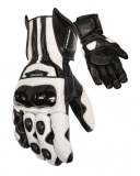 Motorbike Leather Gloves-Leather Racing Gloves