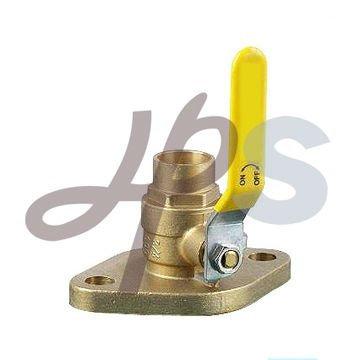 flange solder ball valve