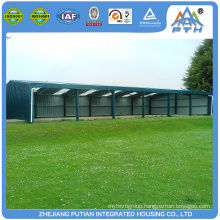 Commercial fast assemble large span chicken farm building