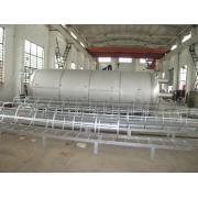 Tanque cilíndrico vertical de almacenamiento de agua