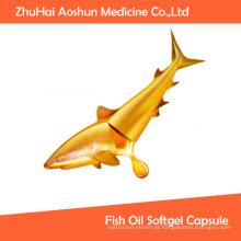 Cápsula de Softgel natural de óleo de peixe de alta qualidade