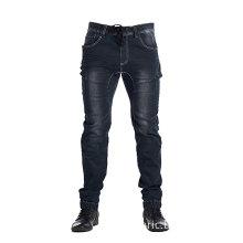 Dark Indigo Men Active Elastic Jean Slim Fit