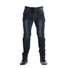 Dark Indigo Men Active Elastic Jean Slim Fit