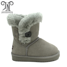 Hot sale for Toddler Sheepskin Boots Cheap Suede Kids Girls Short Boots for Winter supply to Algeria Exporter