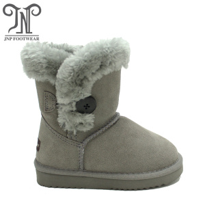 Cheap Suede Kids Girls Short Boots for Winter