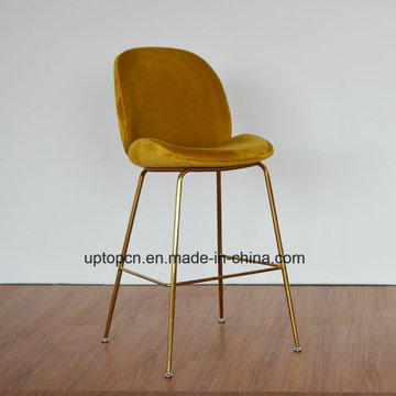 (SP-HBC437) Modern Design Gubi Beetle Bar Chair Replica Leather