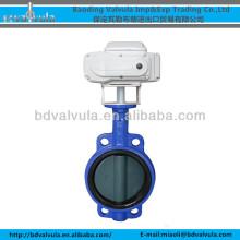 D971X-10 / 10Q / 16 / 16Q Válvula de borboleta motorizada da bolacha