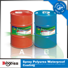 Revêtement étanche à la polyuréthane avec bonne qualité