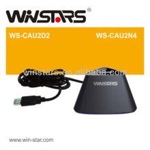 USB 2.0 extender Dock com cabo de encaixe USB 2.0, cabos de extensão USB