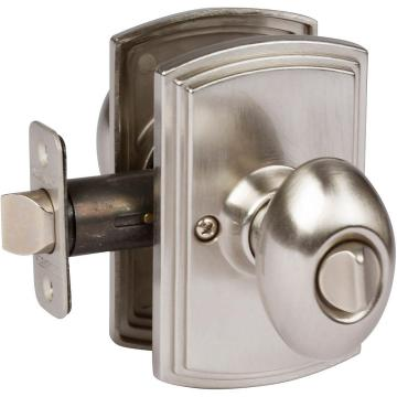 Canova Satin Nickel Bed and Bath Knob
