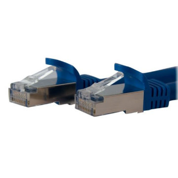 Shielded Snagless 10 Gigabit RJ45 STP CAT6A Patch Cord Cable