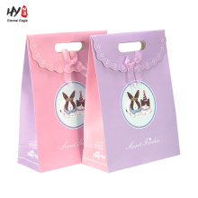 Wholesale beautiful cute kraft gift paper bag