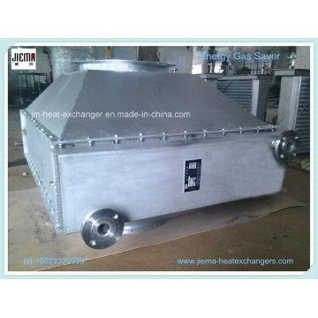 Trocador de calor do ar do óleo para a chaminé do forno