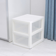 Plastic 2 Drawer Unit