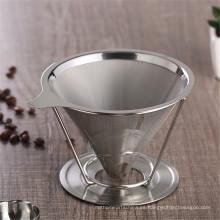 Vaso promocional del acero inoxidable de la pared de 2 tazas 4 tazas doble para beber del café