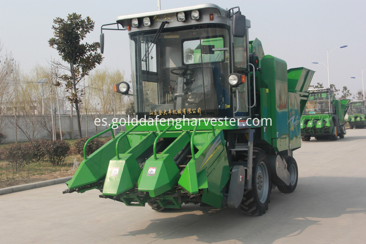 corn cutting machinery