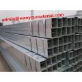 Clôture en acier galvanisé soudé Rectangular Mild Carbon Pipe