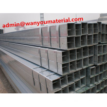 Fencing Mild Carbon Rectangular Welded Galvanized Steel Pipe