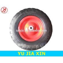 Roda da espuma do plutônio do wheelbarrow de 16 polegadas