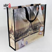 sacos de compras tecidos do tote portátil pp