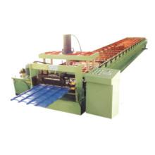Máquina formadora de rolos de telha de aço galvanizado com controle por computador