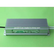 24V 100W alta potência IP67 impermeável LED tira de alimentação