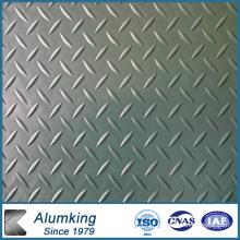 Feuille d'aluminium en relief 3003/3105 5052/5005