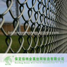Fabrication Glavanized 6 Feet Chain Link Fence