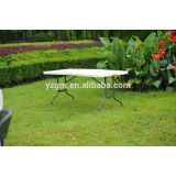 Easy Handling Rectangle Plastic Outdoor Table