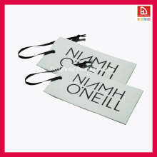 Customized Recyclable Art Paper Garment Tag/ Hangtag (DH-015)
