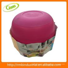 Caixa de armazenamento / tigela de plástico