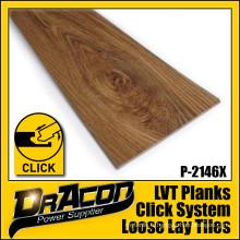 CE certifié Click Lock PVC Vinyl Floor Tiles (P-2146)