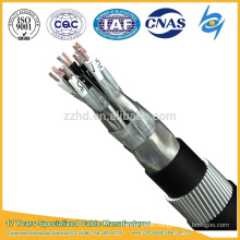 NF M 87-202 EIFA PVC insulated armoured double shielded instrument cable NF M 87-202 EIFA