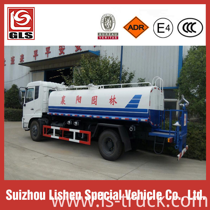 Dongfeng Water Tank Truck Street Sprinkle