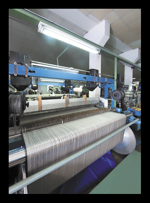 GREY SCREEN WEAVE WORSTED WOVEN FABRICS