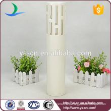 Vaso de porcelana de diseño moderno para la decoración del hotel