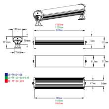 Lumière en aluminium de tube de Tri-Proof LED d'IP65 pour l'éclairage d'entrepôt