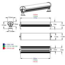Luz de alumínio do tubo do diodo emissor de luz da Tri Prova IP65 para a iluminação do armazém