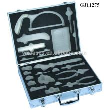 caja de herramienta de aluminio fuerte y portátil con el parte movible de encargo de la espuma interior fabricante
