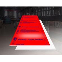 Feve Gloss Red Aluminum Sheet Plate 1.6mmThick 5052 H32 1500*3000mm