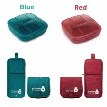Emergency First Aid Kit, Big Capacity Pill Box
