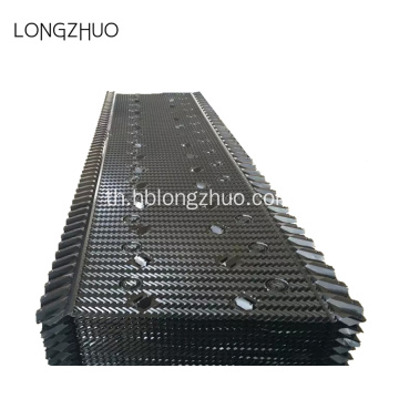 PVC Fill Media Industrial Cooling Tower Fill Replacement