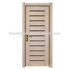 Недорогой интерьер комнаты деревянная законченная меламином отлитая в форму дверь