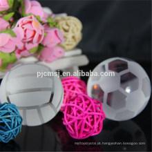 Bolas de cristal por atacado, futebol de cristal para presente das lembranças e decoração home
